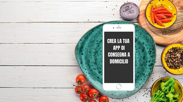 creare app per food delivery