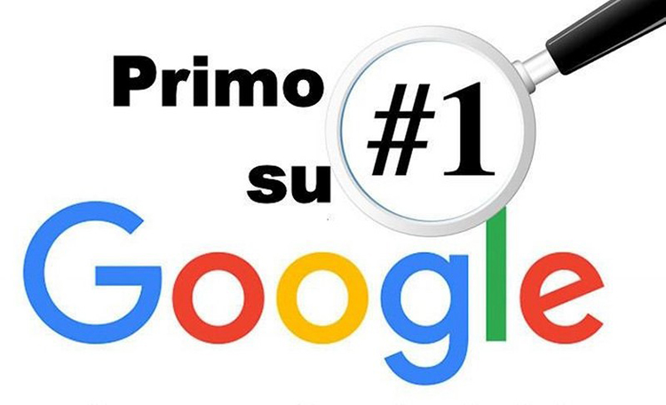 primo posto su google