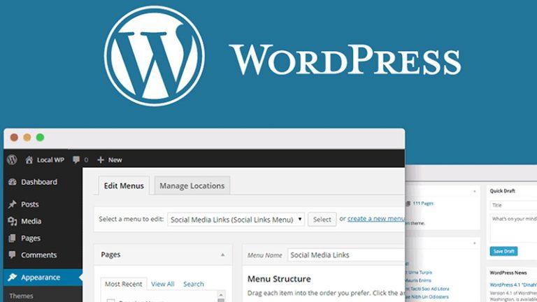 realizzazione sito web wordpress